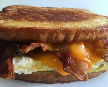 Egg & Cheese with Bacon Breakfast Sandwich
