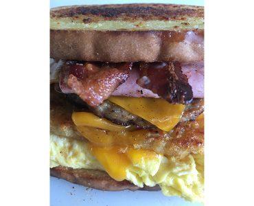 The Everything Breakfast Sandwich